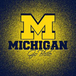 Michigan Wolverines HD iPad Wallpaper by hp31308