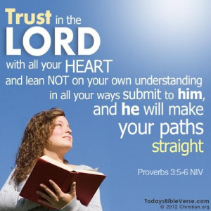 Bible quotes wise sayings trust