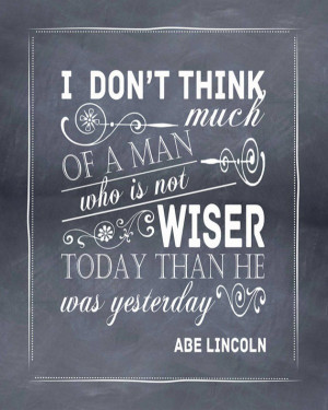 Filed Under: Uncategorized · Tagged: Abraham Lincoln , quotes