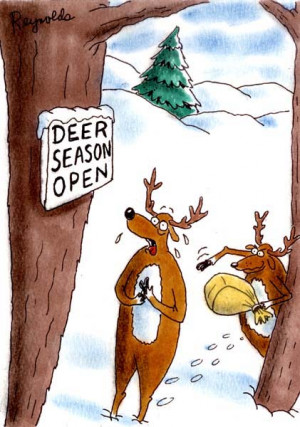 With Deer Season Right Around The Corner...