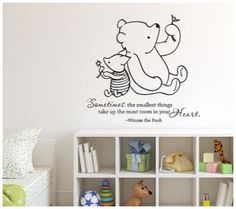 Darling Disney Wall Vinyl Quotes for the Nursery or Playroom | Disney ...