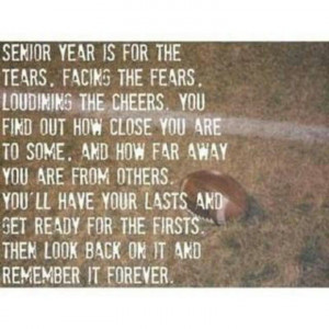 Senior Year Quotes Quotes about senior year
