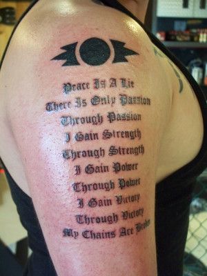 Inspirational Quotes Tattoos