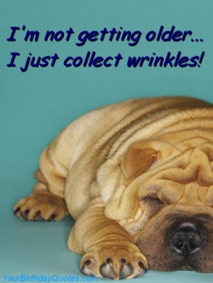 birthday, wishes, quotes, funny, ageing, wrinkles, cute