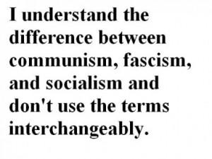 Communism vs. Fascism vs. Socialism