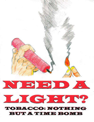 Anti Tobacco Poster Image
