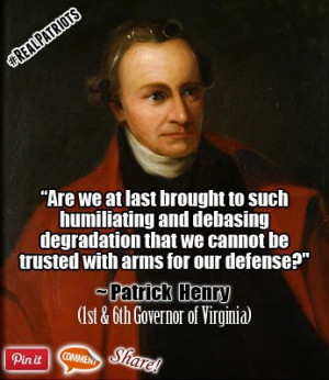 Are we at last brought to such humiliating and debasing degradation ...