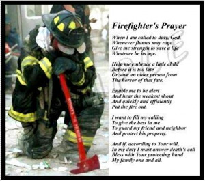 Firefighter's Prayer