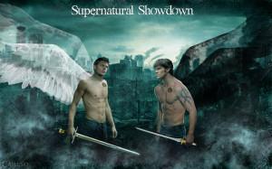 Supernatural Sam & Dean - angels