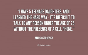 Quotes About Teenage Daughters