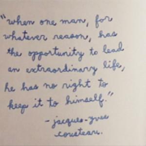 Jacques Cousteau quote 2