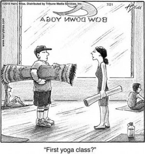 Tu primera clase de yoga!