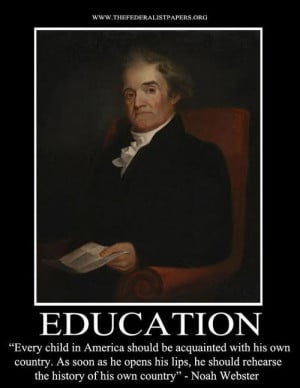 Education - Noah Webster