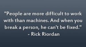 Quotes By Rick Riordan