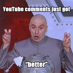 dr evil austin powers air quotes sarcasm youtube funny