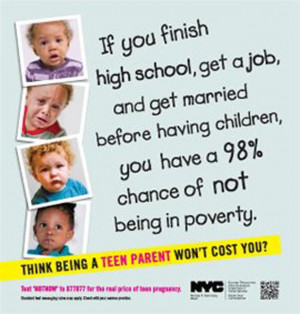 Teen Pregnancy Prevention campaign shows the high costs teen pregnancy ...