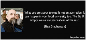 What you are about to read is not an aberration: it can happen in your ...