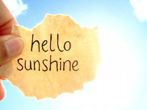 amazing, lights, morning, paradise, quote, sky, sun, sunshine, welcome