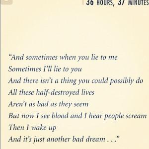 Bad Dream Quotes