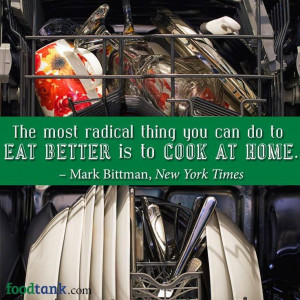 ... Mark Bittman. I like this! #quote #wisewords #Bringlifetothetable #