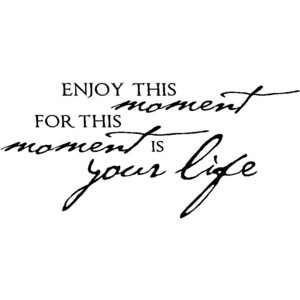 Wall Quotes Enjoy This Moment Wall Quote