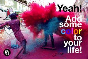 focusNjoy #91: Add color to your life!