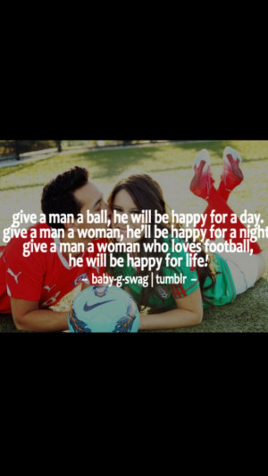 Soccer couples quotes!