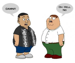 Gabriel Iglesias & Peter Griffen (based on Gabriel's comedy stand up ...