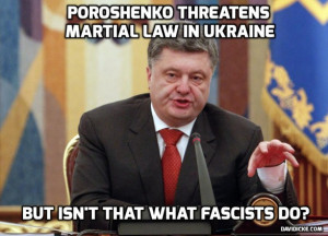 From Freedom to Fascism: Poroshenko to Impose Martial Law in the ...