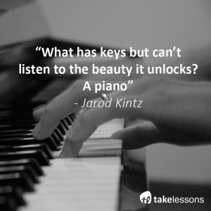 "... down at my piano and telling fairy stories."" – Nat King Cole"