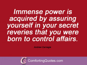 16 Sayings From Andrew Carnegie