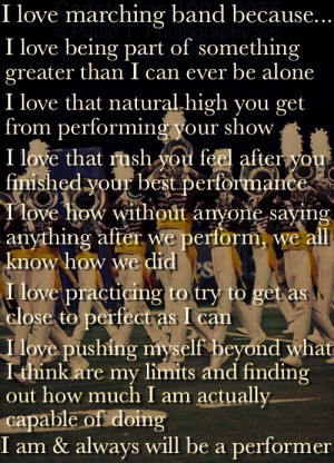 Marching Band Drum Major Quotes