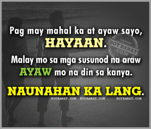 Tagalog Quotes | Pinoy Pick-up Lines
