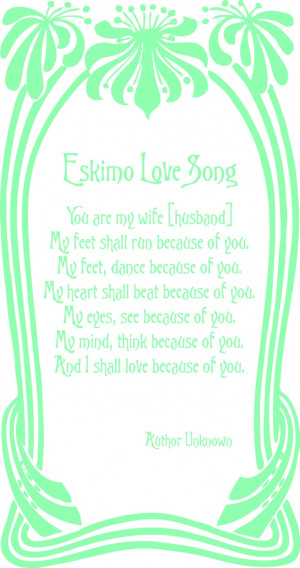 cute poem for your wedding invitations...