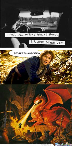 The Hobbit Tumblr Quotes