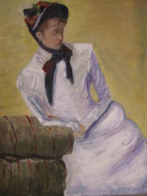 ... mary cassatt my color and brush stroke study of mary cassatt s self