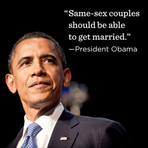... Show Just How Political Obama's Endorsement Of Same-Sex Marriage Was
