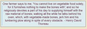 Great quote on being a #vegetarian