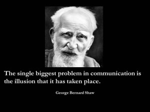 picture of George Bernard Shaw with Quote