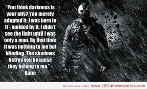 The Dark Knight Rises (2012) movie quote
