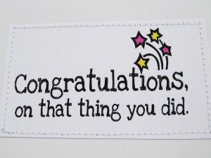 Items similar to Funny card for new parents. Congratulations. See