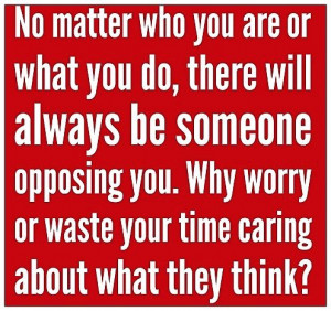 Why worry...???