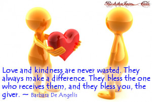 ... Kindness Quotes,Blessings Quotes, Inspirational Quotes, Motivational