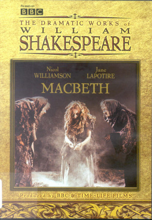 DVD Macbeth (BBC) Shakespeare Quotes Macbeth