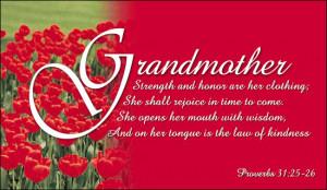 Christian Quotes For Grandparents Quotesgram
