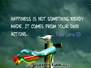 Back > Quotes For > Dalai Lama Quotes Happiness