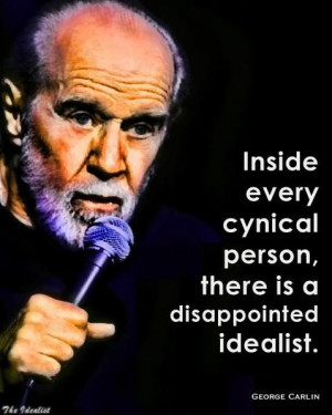Disappointed Idealist quote