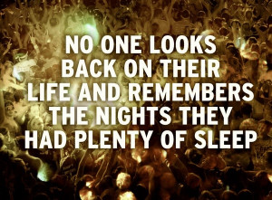 No Sleep Quotes