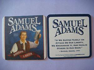 ... -Bar-Mat-Boston-Beer-Co-SAMUEL-ADAMS-Summer-Ale-1771-Liberty-Quote