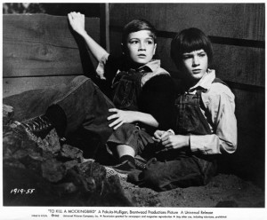 Still of Mary Badham and Phillip Alford in To Kill a Mockingbird (1962 ...